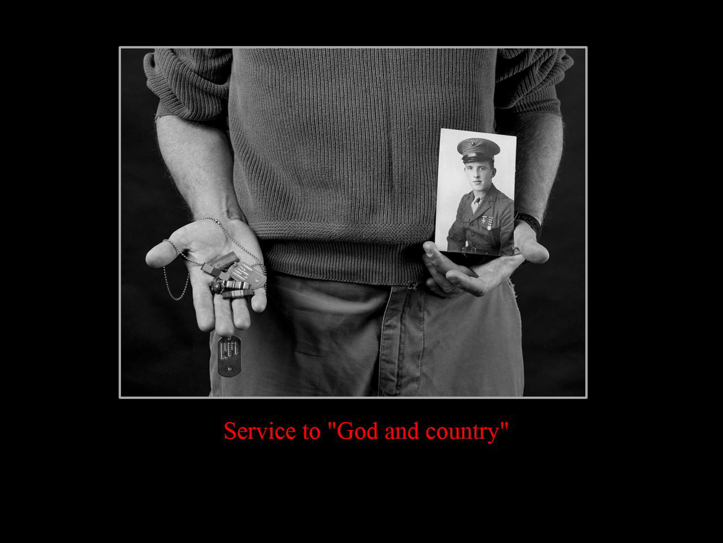 service to God and country